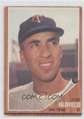 1962 Topps #339 - Jose Valdivielso [Good to VG‑EX]
