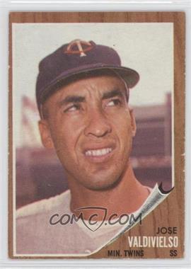 1962 Topps #339 - Jose Valdivielso
