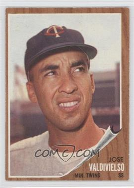 1962 Topps #339 - Jose Valdivielso