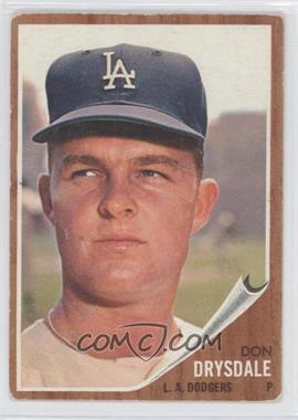 1962 Topps #340 - Don Drysdale