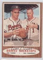 Braves' Backstops (Joe Torre, Del Crandall)