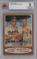 Braves' Backstops (Joe Torre, Del Crandall) [BVG 5]