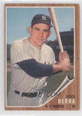 1962 Topps #360 - Yogi Berra