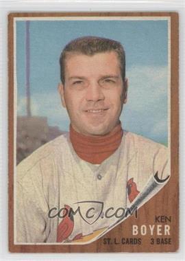 1962 Topps #370 - Ken Boyer