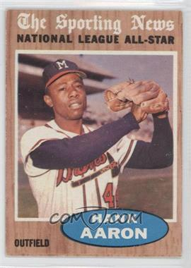 1962 Topps #394 - Hank Aaron (All-Star)