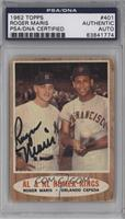 AL & NL Homer Kings (Roger Maris, Orlando Cepeda) [PSA/DNA Certified …