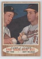 Rival League Relief Aces (Roy Face, Hoyt Wilhelm)