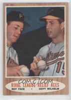 Rival League Relief Aces (Roy Face, Hoyt Wilhelm)