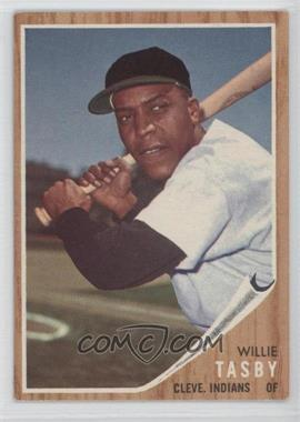 1962 Topps #462.2 - Willie Tasby (No logo on cap)