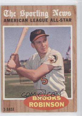 1962 Topps #468 - Brooks Robinson (All-Star)