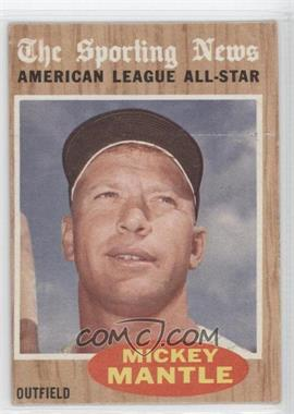1962 Topps #471 - Mickey Mantle (All-Star)