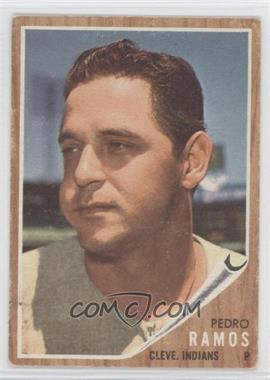 1962 Topps #485 - Pedro Ramos