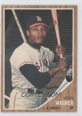 1962 Topps #491 - Leon Wagner