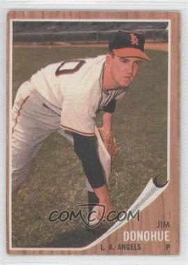 1962 Topps #498 - Jim Donohue