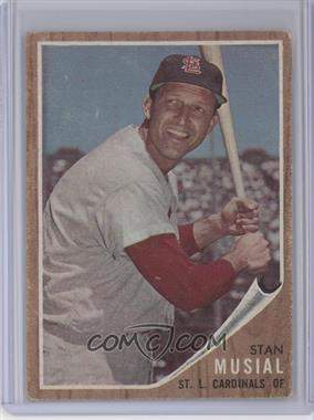 1962 Topps #50 - Stan Musial