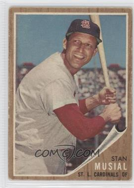 1962 Topps #50 - Stan Musial [Good to VG‑EX]