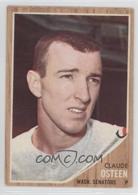 1962 Topps #501 - Claude Osteen