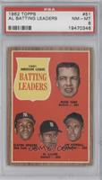 1961 Americal League Batting Leaders (Norm Cash, Elston Howard, Al Kaline, Jim …