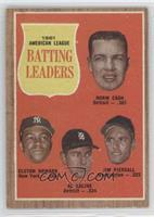 1961 Americal League Batting Leaders (Norm Cash, Elston Howard, Al Kaline, Jim …
