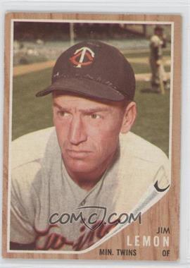 1962 Topps #510 - Jim Lemon