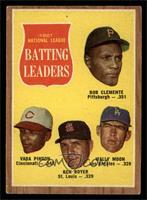 National League Batting Leaders (Bob Clemente, Vada Pinson, Ken Boyer, Wally Mo…