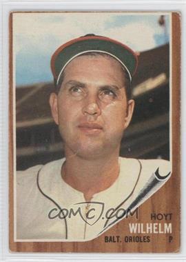 1962 Topps #545 - Hoyt Wilhelm