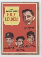 1961 Americal League E.R.A. Leaders (Dick Donovan, Bill Stafford, Don Mossi, Mi…