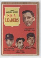 1961 American League E.R.A. Leaders (Dick Donovan, Bill Stafford, Don Mossi, Mi…