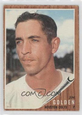 1962 Topps #568 - Jim Golden