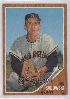 1962 Topps #569 - Ed Sadowski
