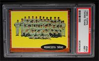 Minnesota Twins Team [PSA 7]