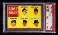 Rookie Parade - Sam McDowell, Ron Taylor, Dick Radatz, Art Quirk, Ron Nischwitz…