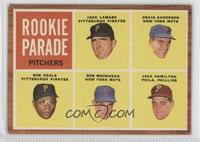 Rookie Parade Pitchers (Jack Lamabe, Craig Anderson, Bob Veale, Bob Moorhead, J…