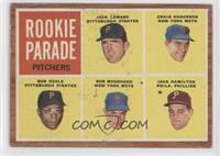 Rookie Parade Pitchers (Jack Lamabe, Craig Anderson, Bob Veale, Bob Moorhead, J…