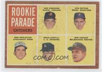 Rookie Parade Catchers (Doc Edwards, Ken Retzer, Don Pavletich, Doug Camilli, B…