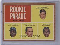 Rookie Parade - Bob Sadowski, Ed Charles, Marlan Coughtry, Felix Torres [Good&n…