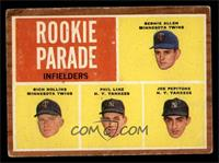 Rookie Parade - Bernie Allen, Rich Rollins, Phil Linz, Joe Pepitone [GOOD]