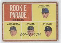 Rookie Parade - Bernie Allen, Rich Rollins, Phil Linz, Joe Pepitone [Poor]