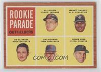 Rookie Parade - Al Luplow, Manny Jimenez, Ed Olivares, Jim Hickman, Howie Goss