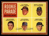 Rookie Parade Outfielders (Al Luplow, Manny Jimenez, Ed Olivares, Jim Hickman, …