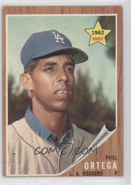 1962 Topps #69 - Phil Ortega