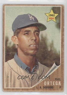 1962 Topps #69 - Phil Ortega [Good to VG‑EX]
