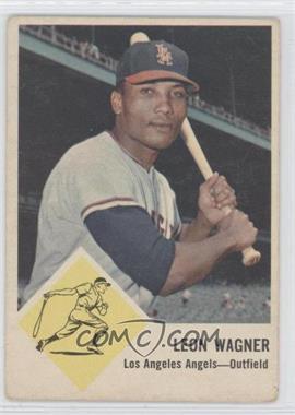 1963 Fleer - [Base] #21 - Leon Wagner