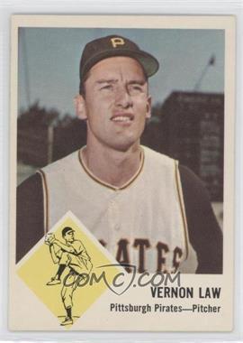 1963 Fleer - [Base] #58 - Vern Law