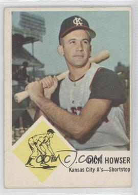 1963 Fleer #15 - Dick Howser