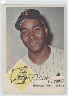 1963 Fleer #23 - Vic Power [Good to VG‑EX]