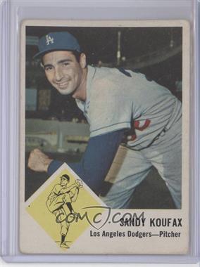 1963 Fleer #42 - Sandy Koufax [GoodtoVG‑EX]