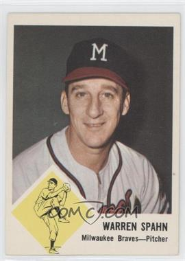 1963 Fleer #45 - Warren Spahn