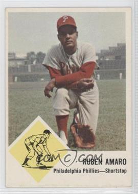 1963 Fleer #50 - Ruben Amaro