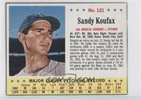 Sandy Koufax [Authentic]